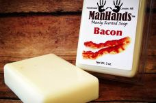MANHANDS MANLY SCENTED SOAP